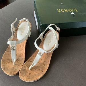 GORGEOUS Graduation Bride Rush Wedge Sandals